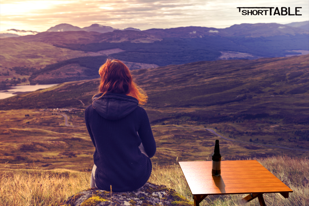 """Quiet, serene moments with a cold beer is """"heaven"""""""